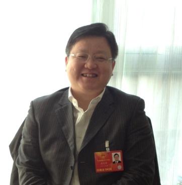 全国人大代表、辽宁省本溪市市长高宏彬。中国网记者