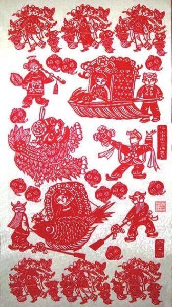 浮山剪纸:大千世界入画来