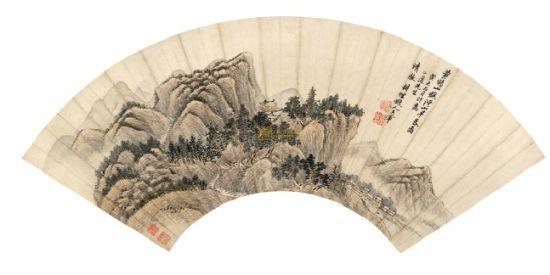 王翚《溪山早春图》