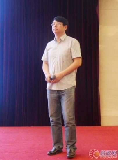 北京建筑节能与环境工程协会副会长-课题组负责人林峰做报告发布