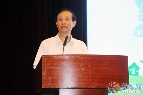 北京建筑节能与环境工程协会副会长金继宗先生致辞