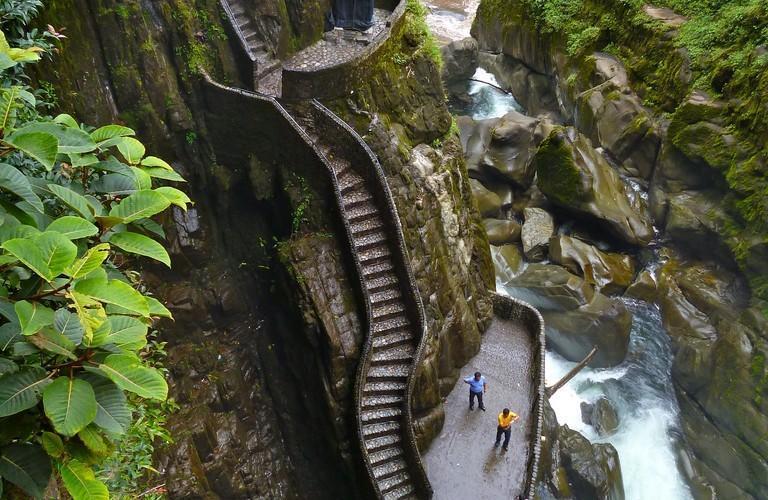 盘点世界最恐怖景区阶梯组图 财经