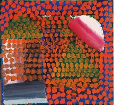 Howard Hodgkin《In the Green Room》 將於2月11日上拍
