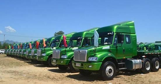 越南进口车辆骤增 近8成运输车来自中国市场