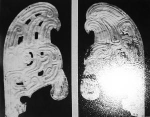大堡子山出土的鸱枭(曾流落法国)。资料照片