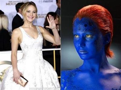 詹妮弗·劳伦斯不再出演《X战警》因颜料影响健康