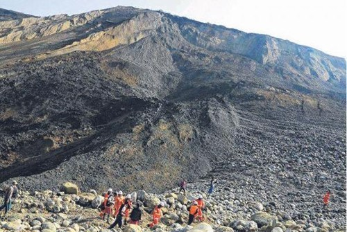 缅甸再发玉石废矿堆坍塌事故或有至少50人失踪