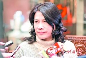 董明珠。 庄小龙、黎旭阳摄(图片来源:广州日报)