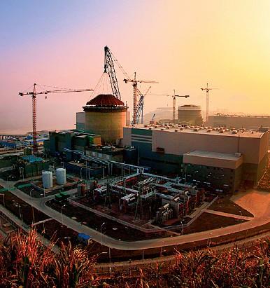 浙江三门第三代核电站