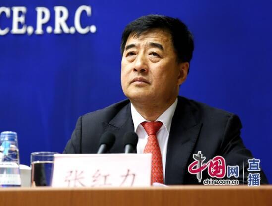 中国工商银行副行长张红力。中国网 宗超/摄