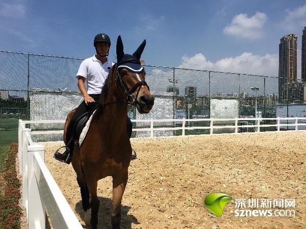 福田有了首家国际马术俱乐部引进儿童马专为青少年提供骑行训练