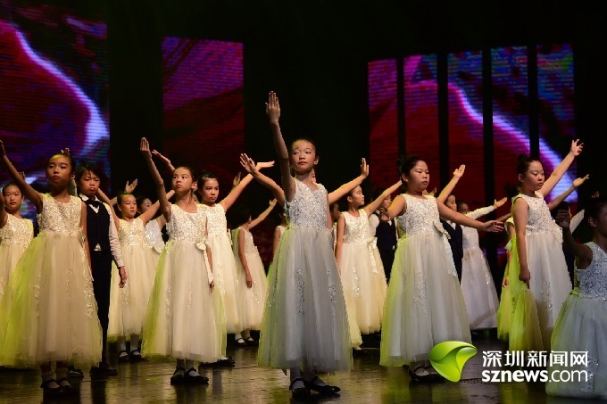 南山第二外国语学校素质教育成果展演万树芳华谱华章