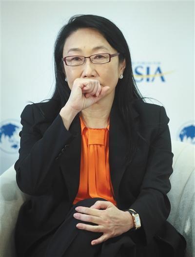 2017年3月24日,HTC董事长王雪红参加2017年博鳌亚洲论坛。图/视觉中国