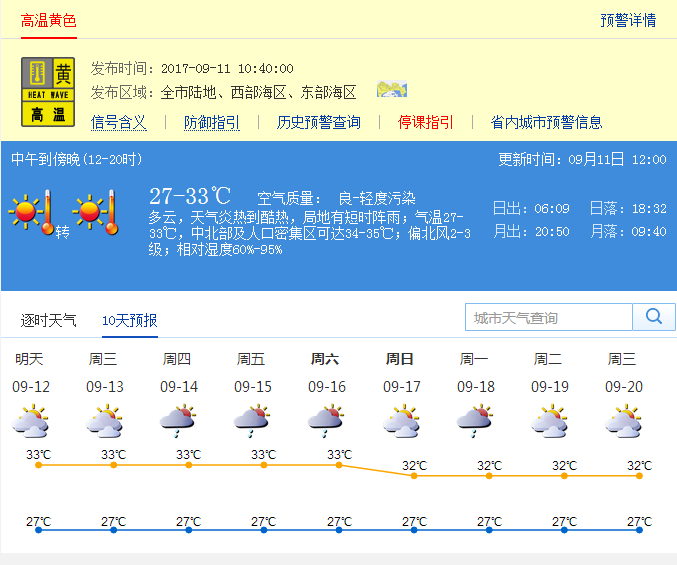 台风 泰利 对深圳无风雨影响 未来4-5天高温酷