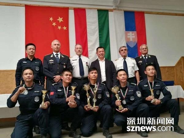 世界警察手枪射击锦标赛 深圳特警夺第一