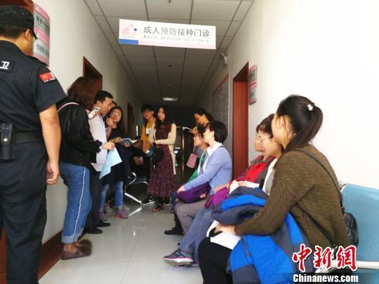 宫颈癌疫苗落地江苏徐州首批39名女性预约排队接种