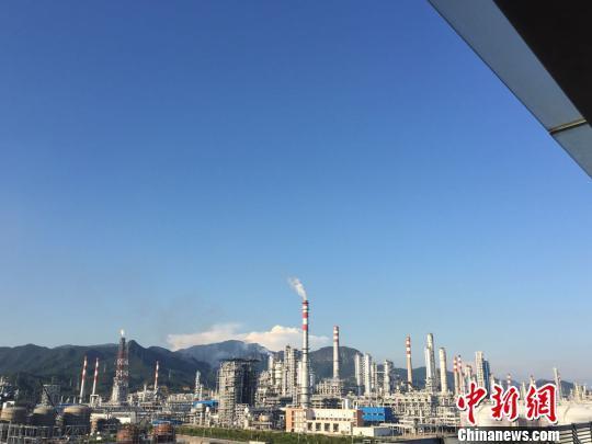 中国海油惠州炼化二期项目炼油工程试车成功