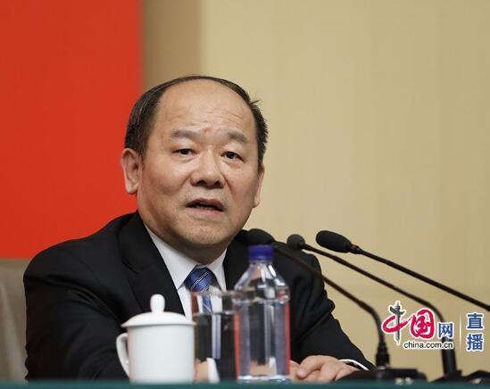国家发展改革委副主任宁吉喆(中国网 高聪摄)