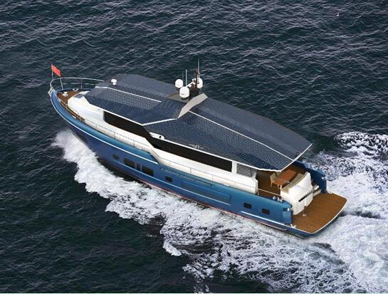 63FT豪华游艇设计图