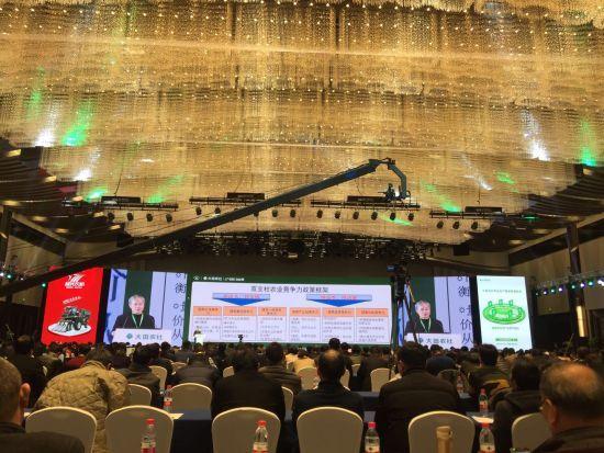 图为:2017数字农业及农业机械化发展峰会开幕。 方堃 摄