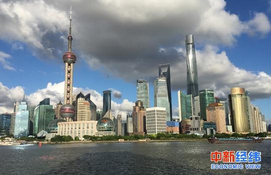 上海外滩。中新经纬 王永乐 摄