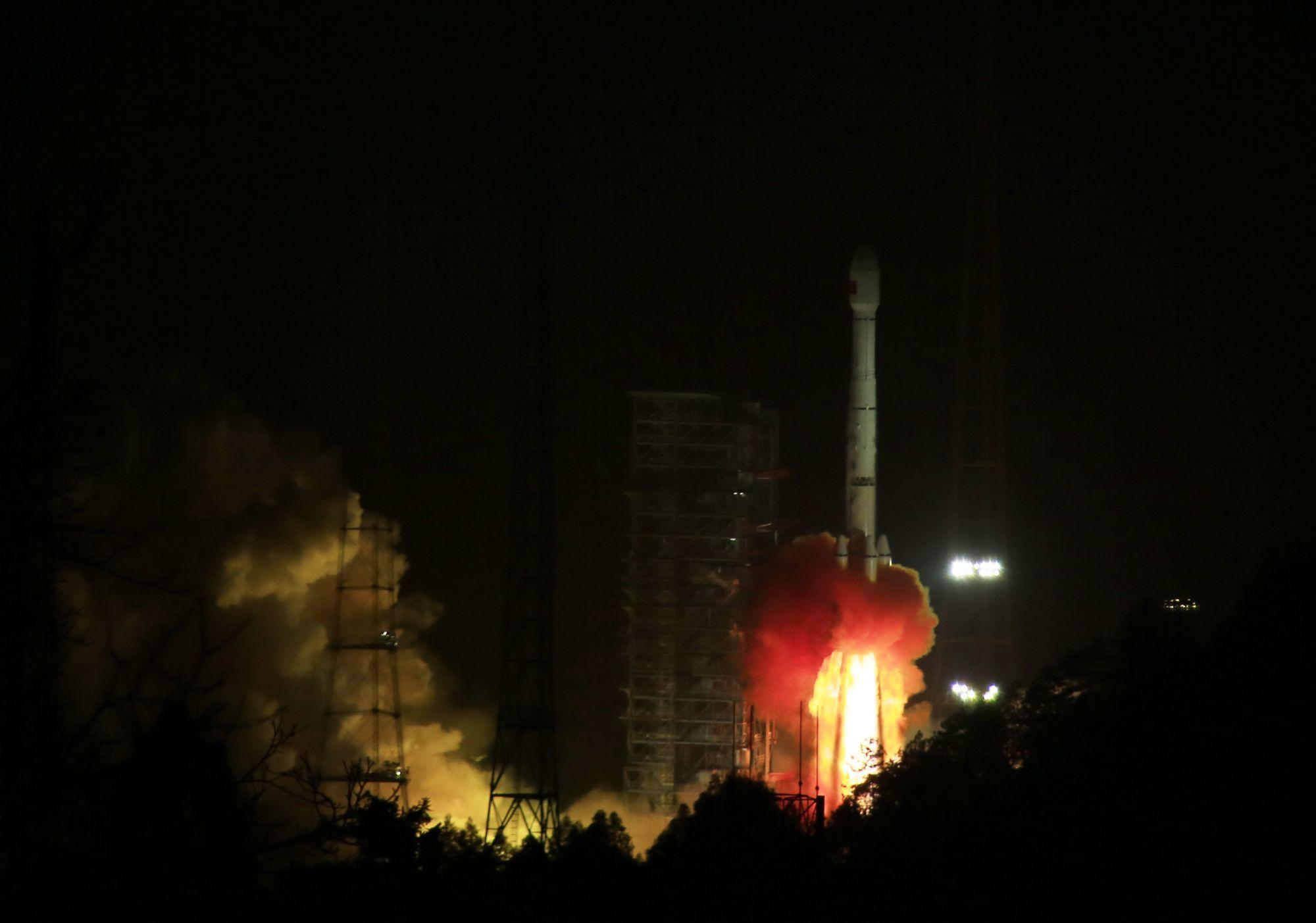 北斗三号工程第二组卫星发射成功