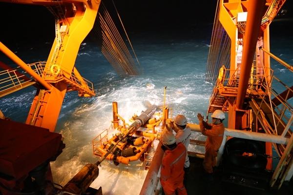 中海油完成我國最長海底管線自主鋪設