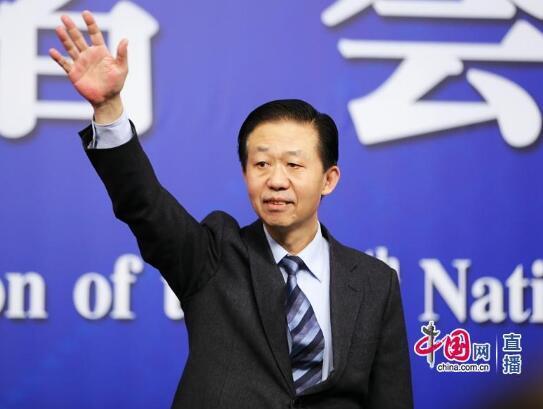 财政部部长肖捷 中国网高聪 摄影