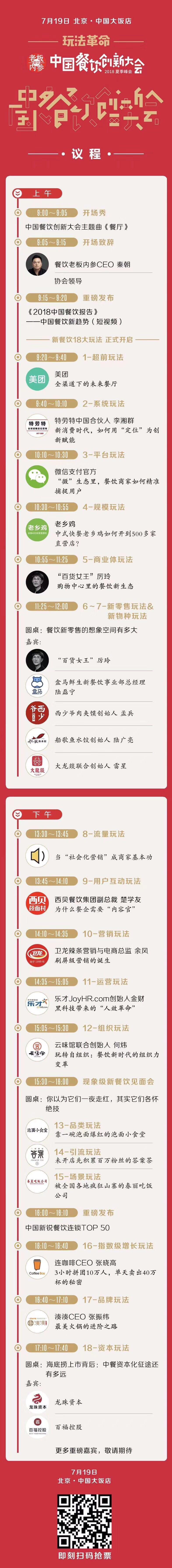 """中国餐饮创新大会:18大""""现象级""""玩法带你看清趋势"""