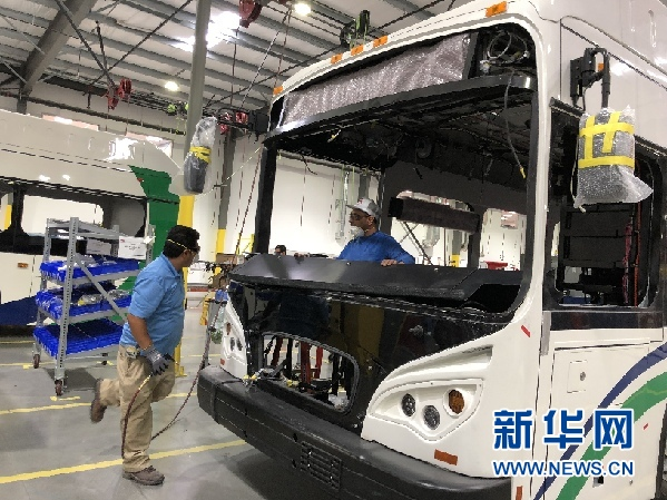 """比亚迪搅动整个美国新能源公交市场 被称为如同一条""""鲶鱼"""""""