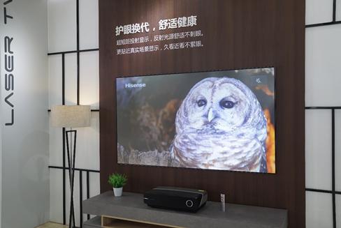 """""""安全护眼""""成市场热点海信激光电视8月量额占比双双突破九成"""