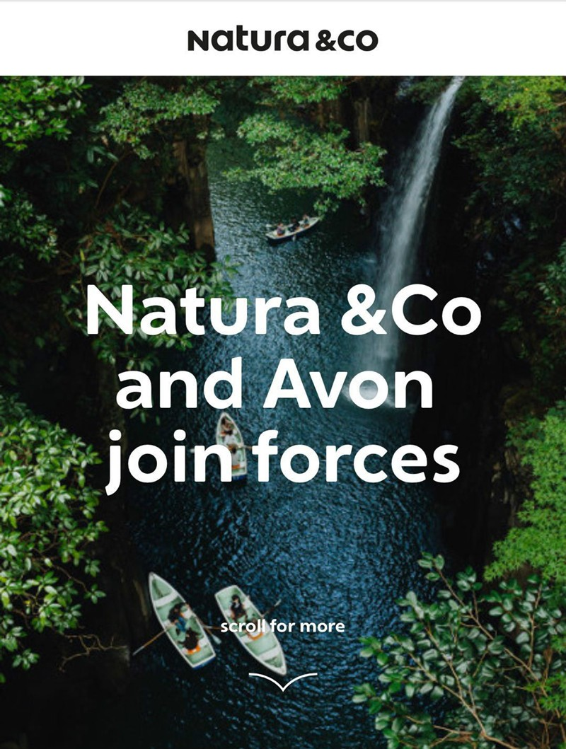 """雅芳或将37亿美元""""卖身""""巴西美妆集团Natura"""
