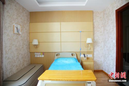 玛丽妇婴医院向顾客提供的客房 杨雨奇 摄