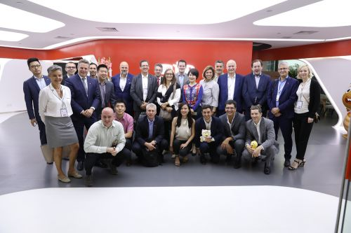 瑞士經濟代表團訪問VIPKID