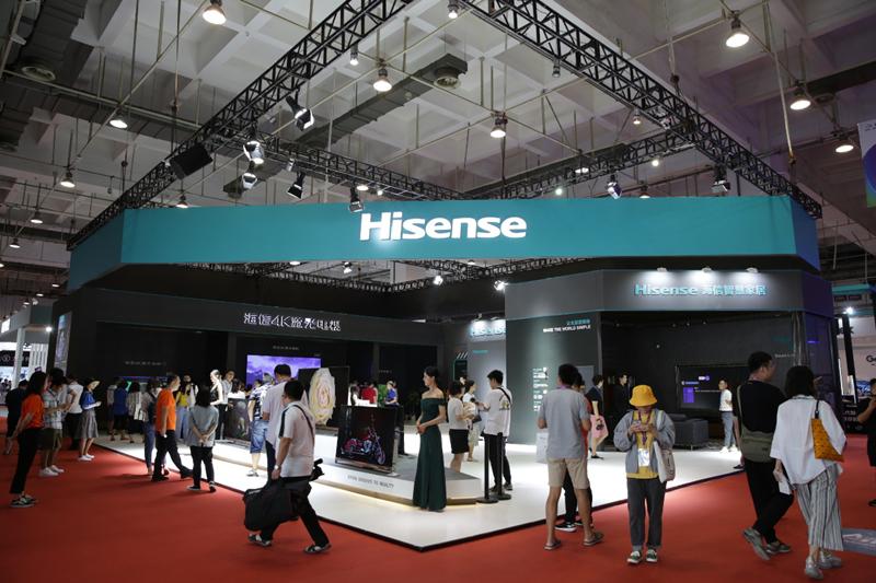 海信电视公布上半年成绩单:市场第一技术第一高端第一