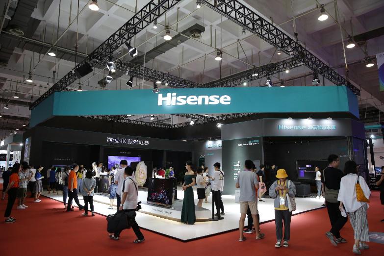 给HiFi发烧友的新武器海信行业首款8通道电视亮相SINOCES
