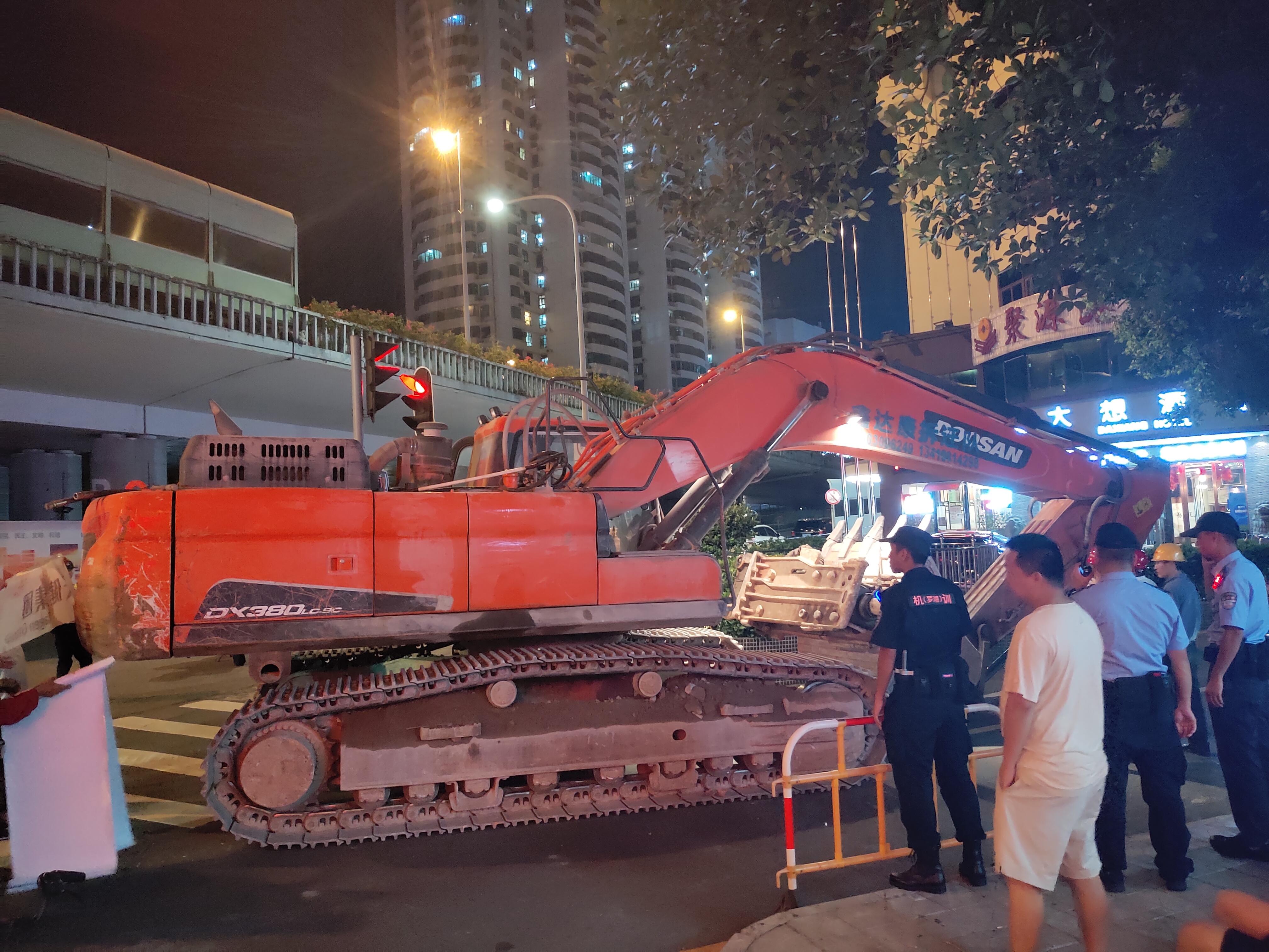 深圳地铁9号线承建商否认工程致楼倒 完工后地质稳定