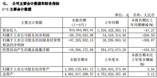 贵人鸟三年关店1421家:半年报亏损5837万元同比大跌270%