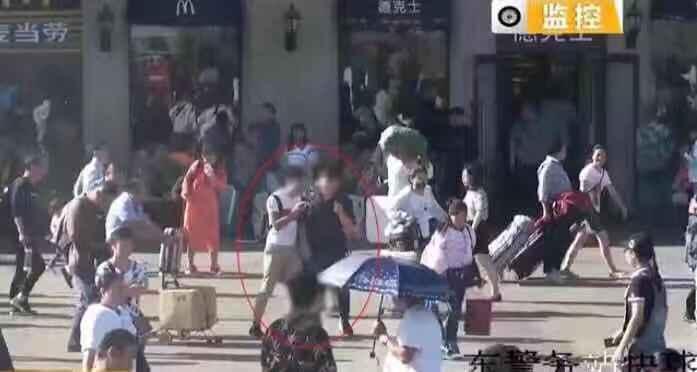 """以""""借钱买票""""为由敛财 5人火车站落网"""