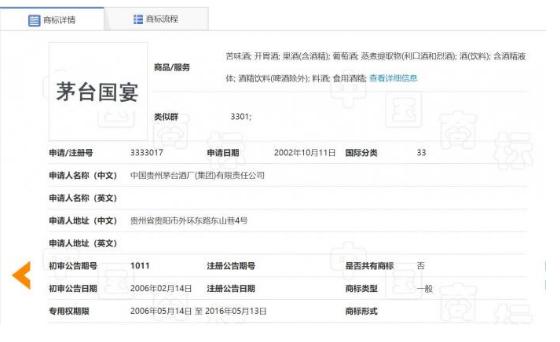 "<b>国酒商标折戟后 贵州茅台申请""国宴""商标又被驳回</b>"