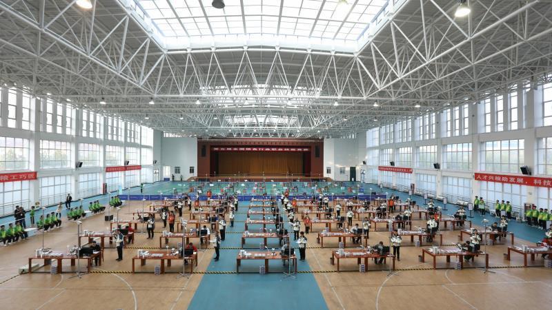 2019年中国技能大赛——第五届全国粮食行业职业技能竞赛在烟台举办