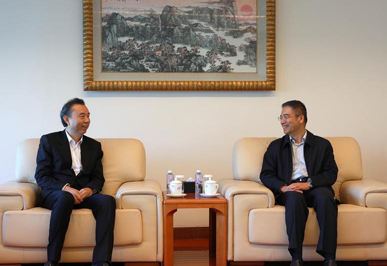 李曙光董事长一行拜访中国工商银行总行