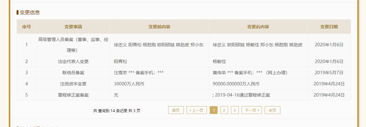 长银五八消费金融法人由阳青松变更为杨敏佳 曾是湖南首家持牌消费金融公司