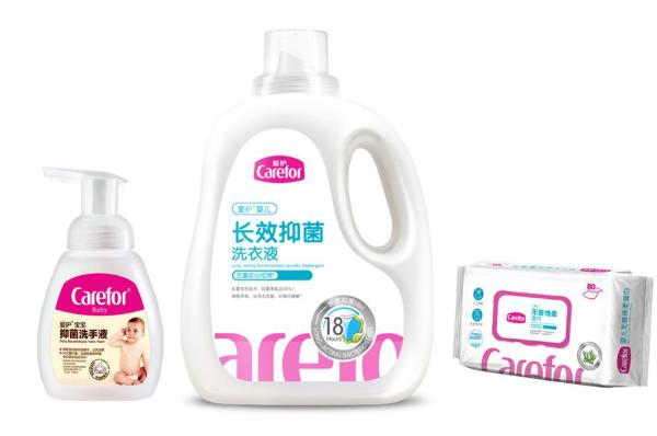 △爱护生产的抑菌洗手液、抑菌洗衣液、卫生湿巾
