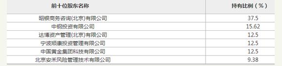 中钢投资在北京产权交易所公开挂牌 转让中泰保险经纪15.62%股权