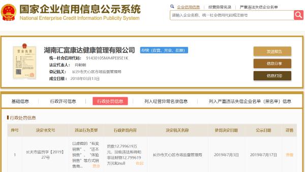 """减肥品牌""""倩狐""""号称两月可减重30斤涉""""虚假宣传"""" 屡遭投诉"""