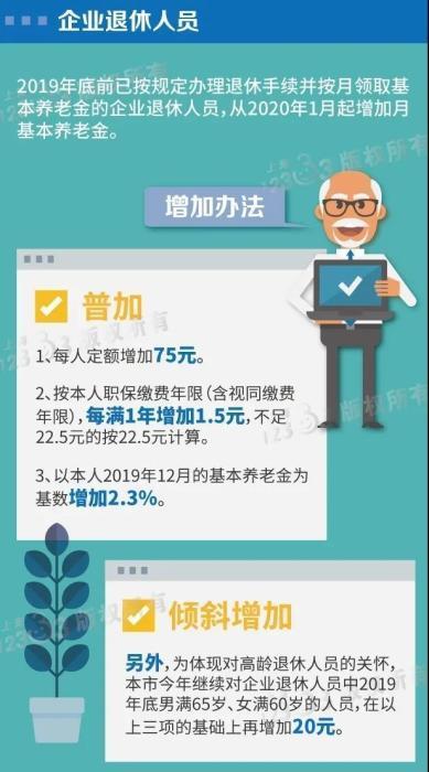 养老金上涨开始落地!快来算算你的养老金能涨多少