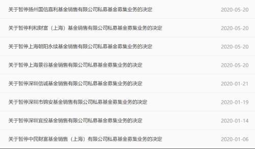 突发!朝阳永续等四家机构被暂停私募基金募集业务,发生了什么?