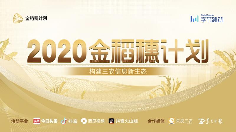 """2020年""""金稻穗奖""""入围名单公布,""""乡村胡子哥""""等38名创作者上榜"""