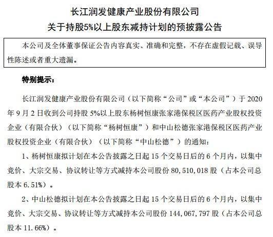 """长江健康可谓是""""话题""""颇多,屡屡引起资本市场的关注"""